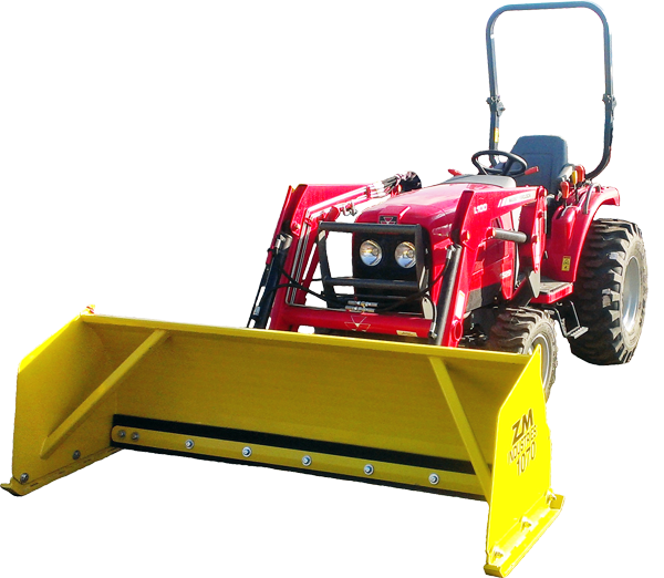 Compact_Tractor_Snow_Pusher_1000_Series