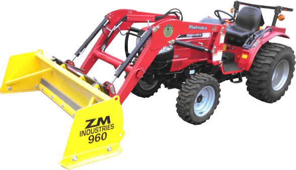 Sub_Compact_Tractor_Snow_Pusher_900_Series
